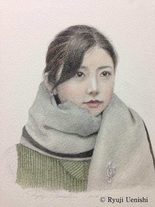 上西竜二作品「かき」